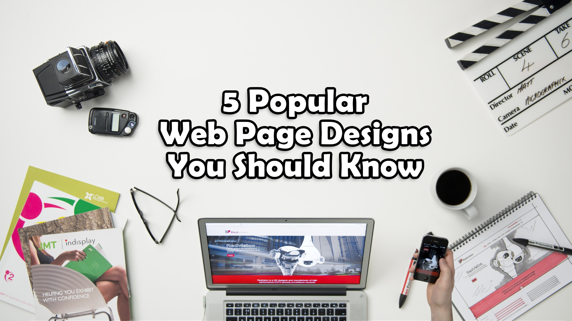 5 Popular Web Page Designs You Should Know