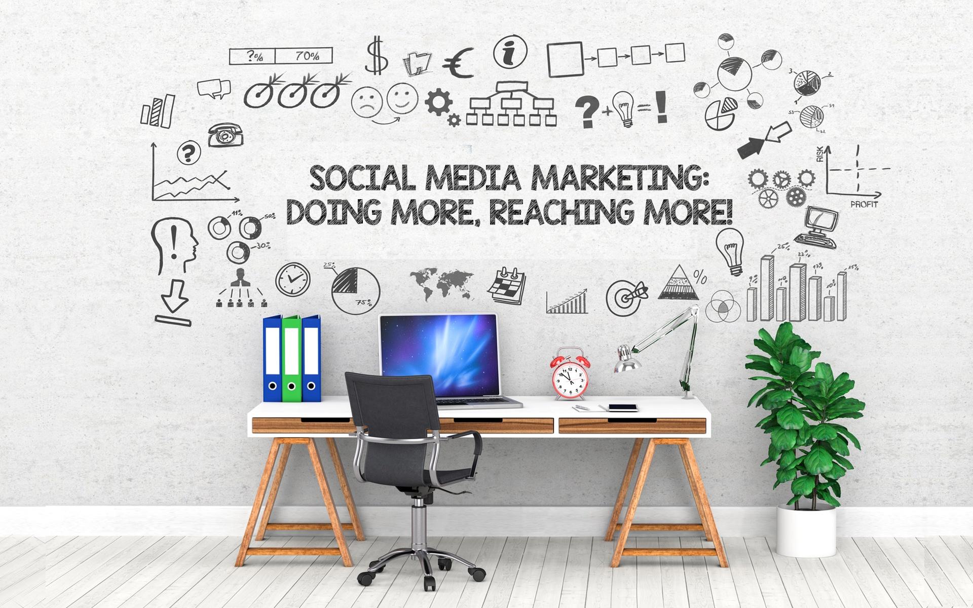 Social Media Marketing: Doing More, Reaching More!