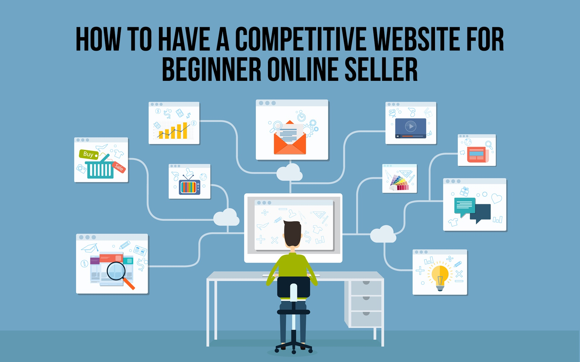 How to Have a Competitive Website for Beginner Online Seller