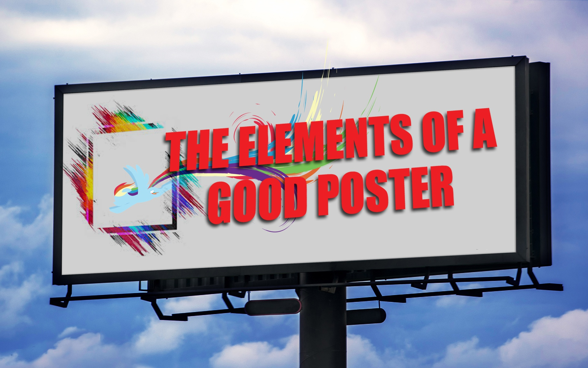 The Elements of a Good Poster